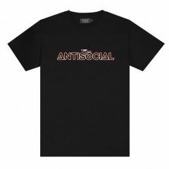 Футболка Antisocial Camera Logo Black
