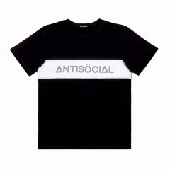 Футболка Antisocial Classic Black