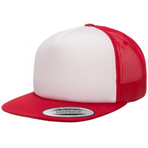 Кепка FlexFit 6005FW Trucker Red/White/Red