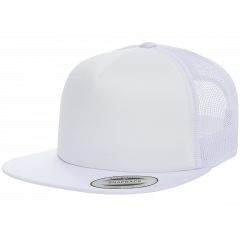 Кепка FlexFit 6005FF NO FOAM Trucker White