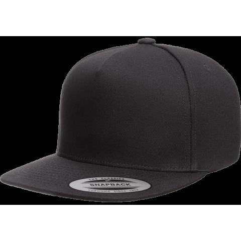 Кепка FlexFit 6007 - Classic Snapback Black