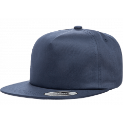 Кепка FlexFit 6502 - Unstructured 5-Panel Snapback Navy