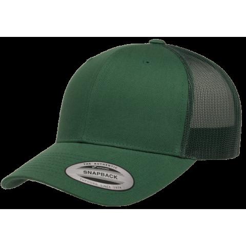 Кепка FlexFit 6606 Retro Trucker - Evergreen