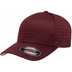 Кепка FlexFit 6777 - Athletic Mesh Maroon