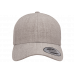 Кепка FlexFit 6789M - Curved Visor Snapback Heather Grey
