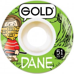 Колеса GOLD WHEELS DANE VAUGHN GANG WHEELS 51mm 101A