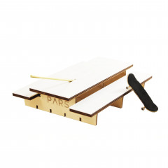 Фингерпарк PARS P-Table верх из белой плитки